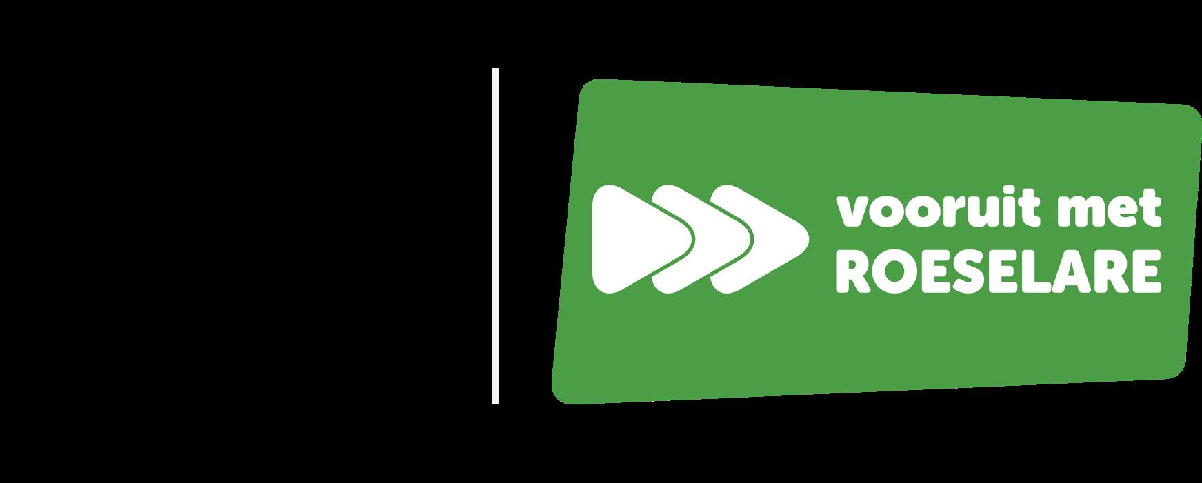 Logo Vooruit met Roeselare